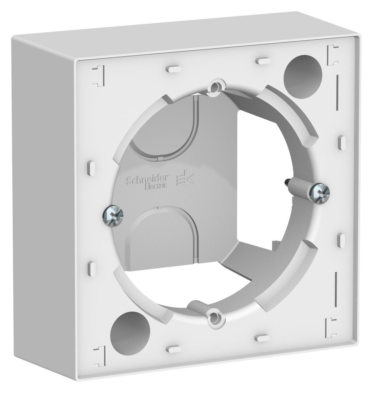 Рамка подъемная 1-ая , Белый, серия Atlas Design, Schneider Electric