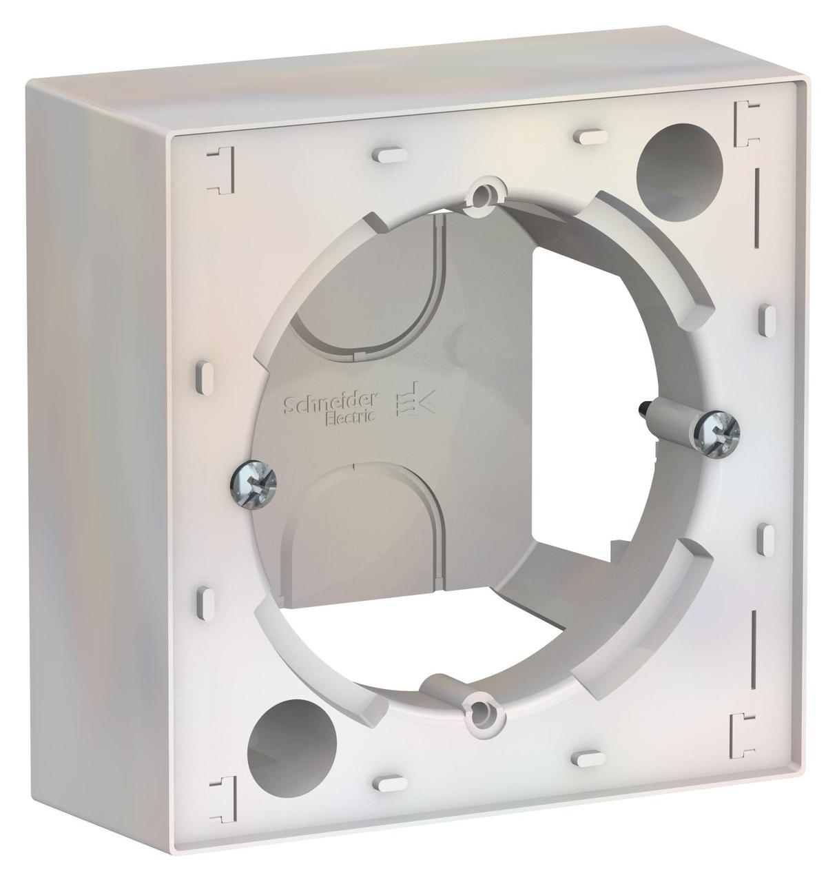 Рамка подъемная 1-ая , Жемчуг, серия Atlas Design, Schneider Electric