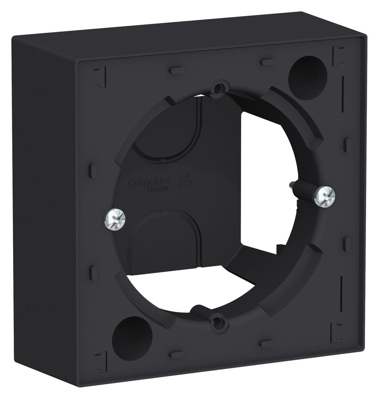 Рамка подъемная 1-ая , Карбон, серия Atlas Design, Schneider Electric