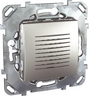 Звонок , Алюминий, серия UNICA TOP/CLASS, Schneider Electric
