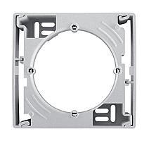 Рамка подъемная для накладного монтажа с 1-ой рамкой, Алюминий, серия Sedna, Schneider Electric