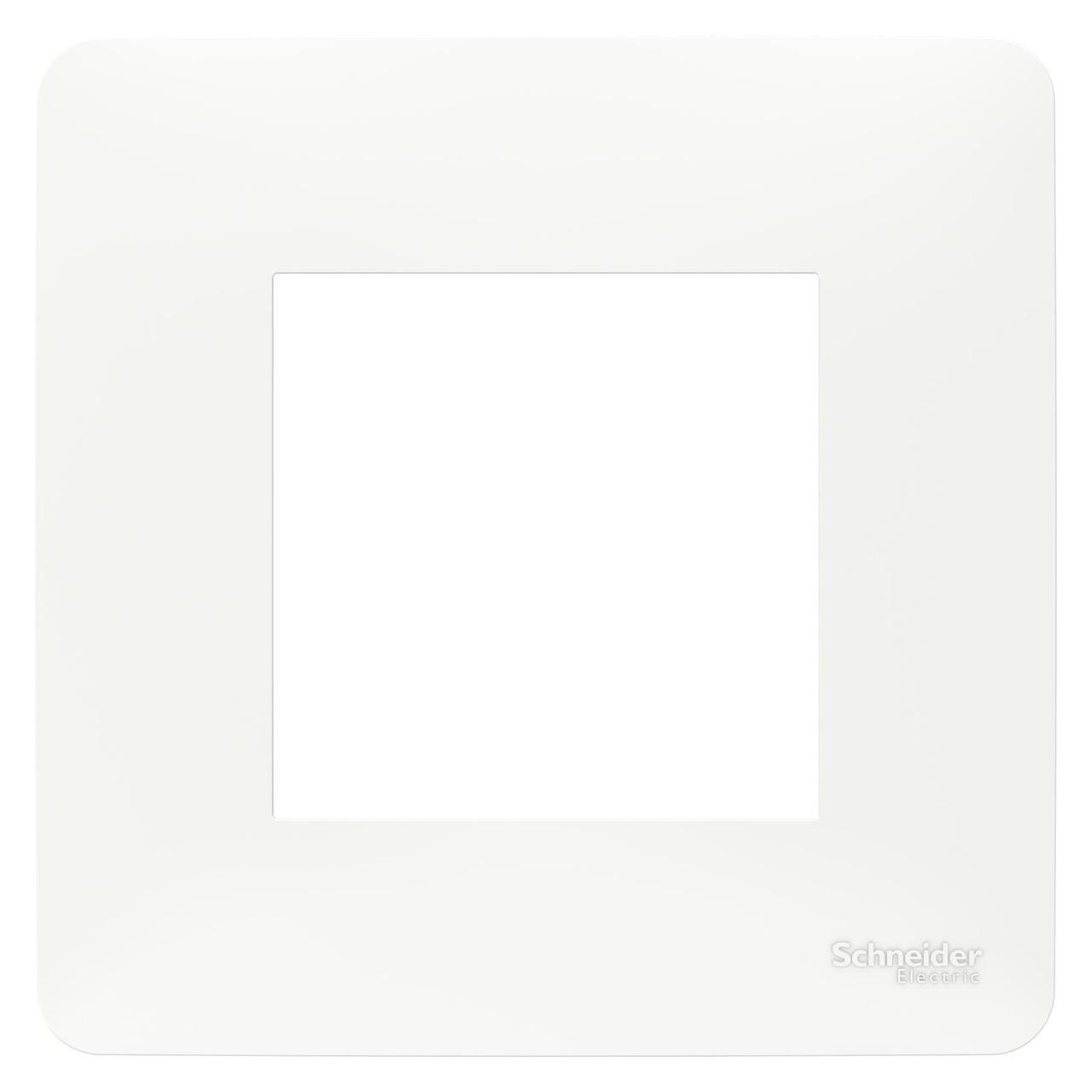 Рамка 1-ая (одинарная), Белый, серия Unica Studio, Schneider Electric