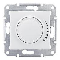 Диммер поворотно-нажимной , 500Вт для ламп накаливания , Белый, серия Sedna, Schneider Electric