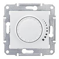 Диммер поворотный , 300Вт для ламп накаливания , Белый, серия Sedna, Schneider Electric