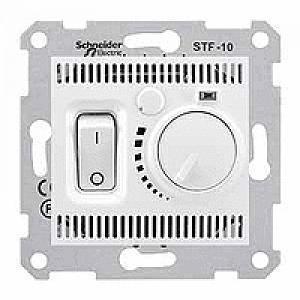Терморегулятор для теплого пола , Белый, серия Sedna, Schneider Electric