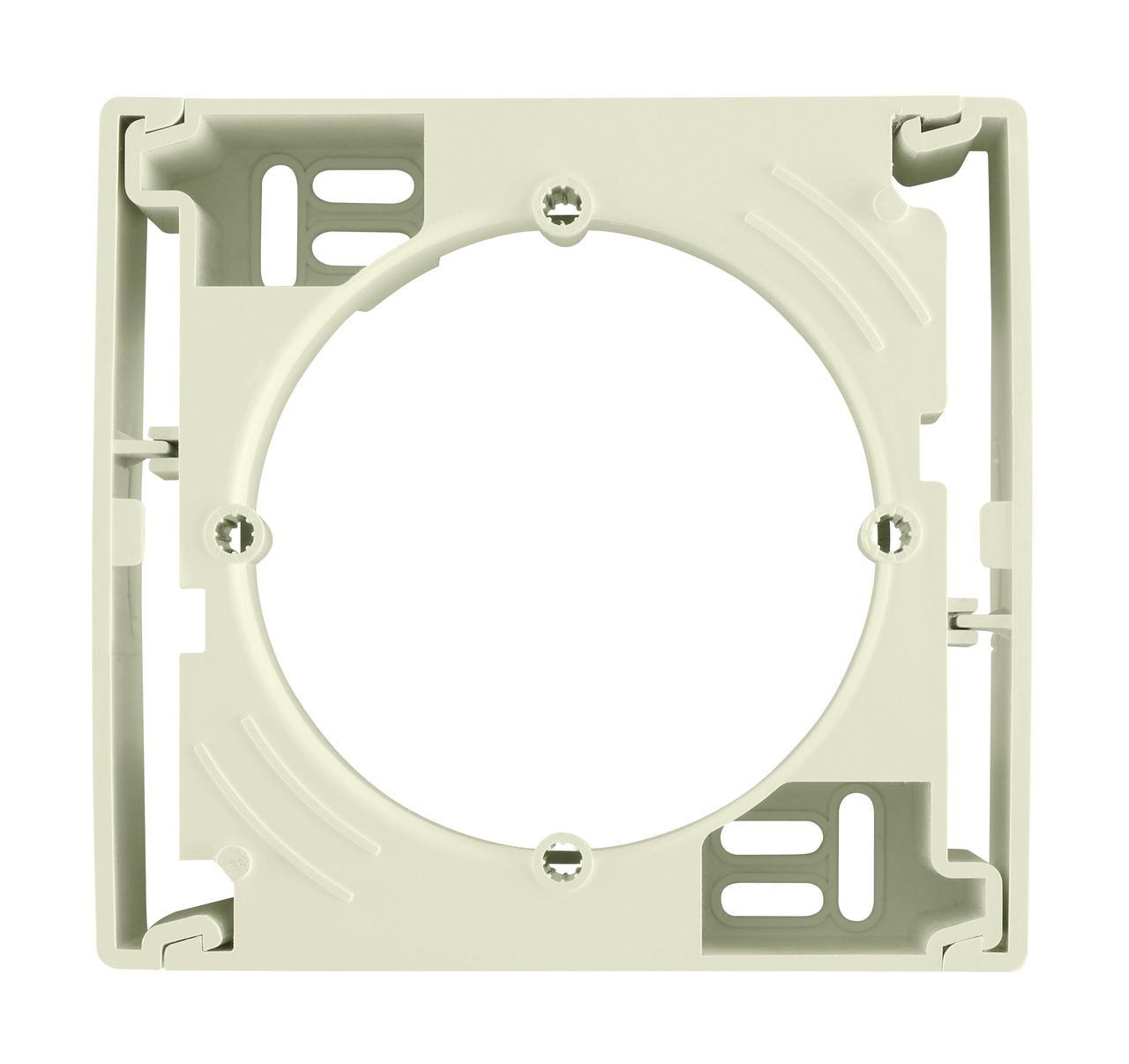 Рамка подъемная для накладного монтажа с 1-ой рамкой, Бежевый, серия Sedna, Schneider Electric
