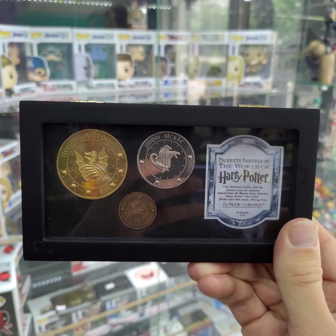 Набор монет Гарри Поттер