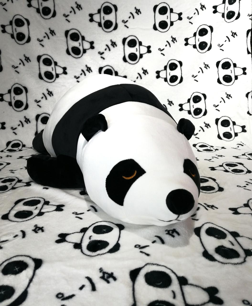 Игрушка-подушка Панда с пледом внутри