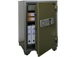 Огнестойкий сейф Booil TOPAZ BST-880 с кассовой ячейкой, с электронным и ключевым замками