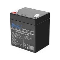 Аккумуляторная батарея SVC AV4.5-12 12В 4.5 Ач, фото 1