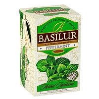 Чай  травяной пакетированный Травяные настои Перечная мята Peppermint, 20пак Basilur