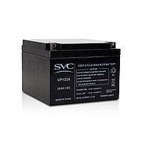 Аккумуляторная батарея SVC VP1224 12В 24 Ач, фото 1