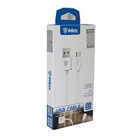 Дата-кабель INKAX USB - Micro CK-65 (2m, 2.1, белый, 414104)