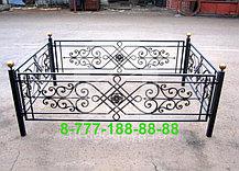 Кованые оградки №48, фото 2