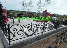 Кованая оградка №58, фото 2