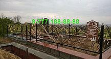 Кованая оградка №58, фото 3