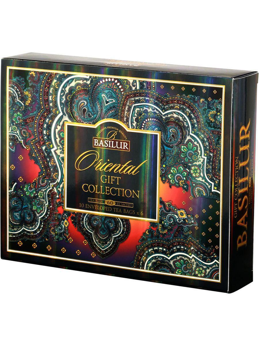 Чай пакетированный Восточная Коллекция Ассорти Giftbox, 60пак Basilur