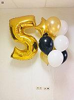 Гелиевые шарики с Цифрой на День Рождение!