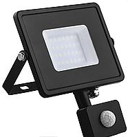 Светодиодный прожектор с датчиком IP44 20W 6400K