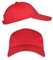 Красные промо кепки под нанесение