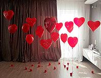 Ходячие гелиевые сердечки