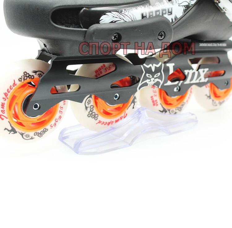 Роликовые коньки для фрискейта MIQI SKY ROLLERS (размер 39) - фото 4