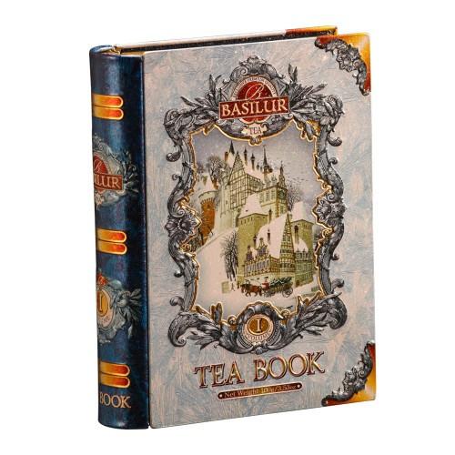 Чай чёрный рассыпной Праздничная коллекция Зимняя книга, Том I– Синий Tea Book, Volume I- Blue, 75гр Basilur