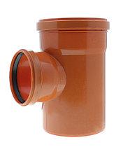 Тройник канализационный 160х110/90 оранжевый