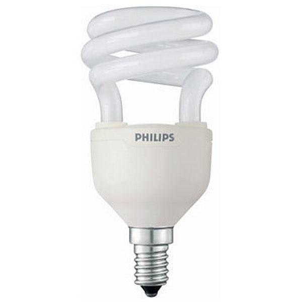 Лампа энергосберегающая Tornado spiral 12W 827 E14 Philips /871829111724700/