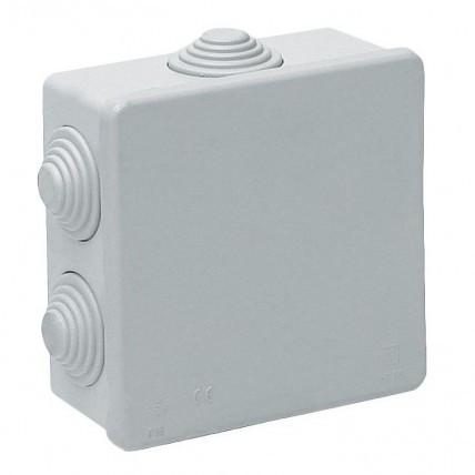 Распред.коробка квад.белый 90*90/40 IP20 (256) EGP