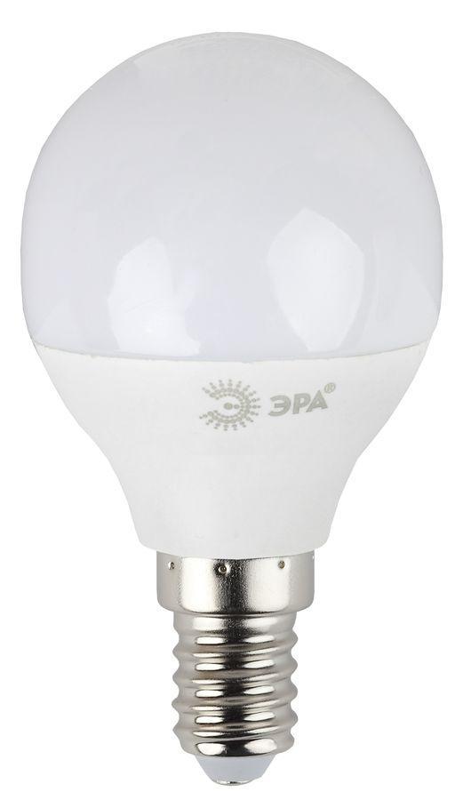 Лампа светодиодная ЭРА LED smd P45-7w-840-E14-Clear
