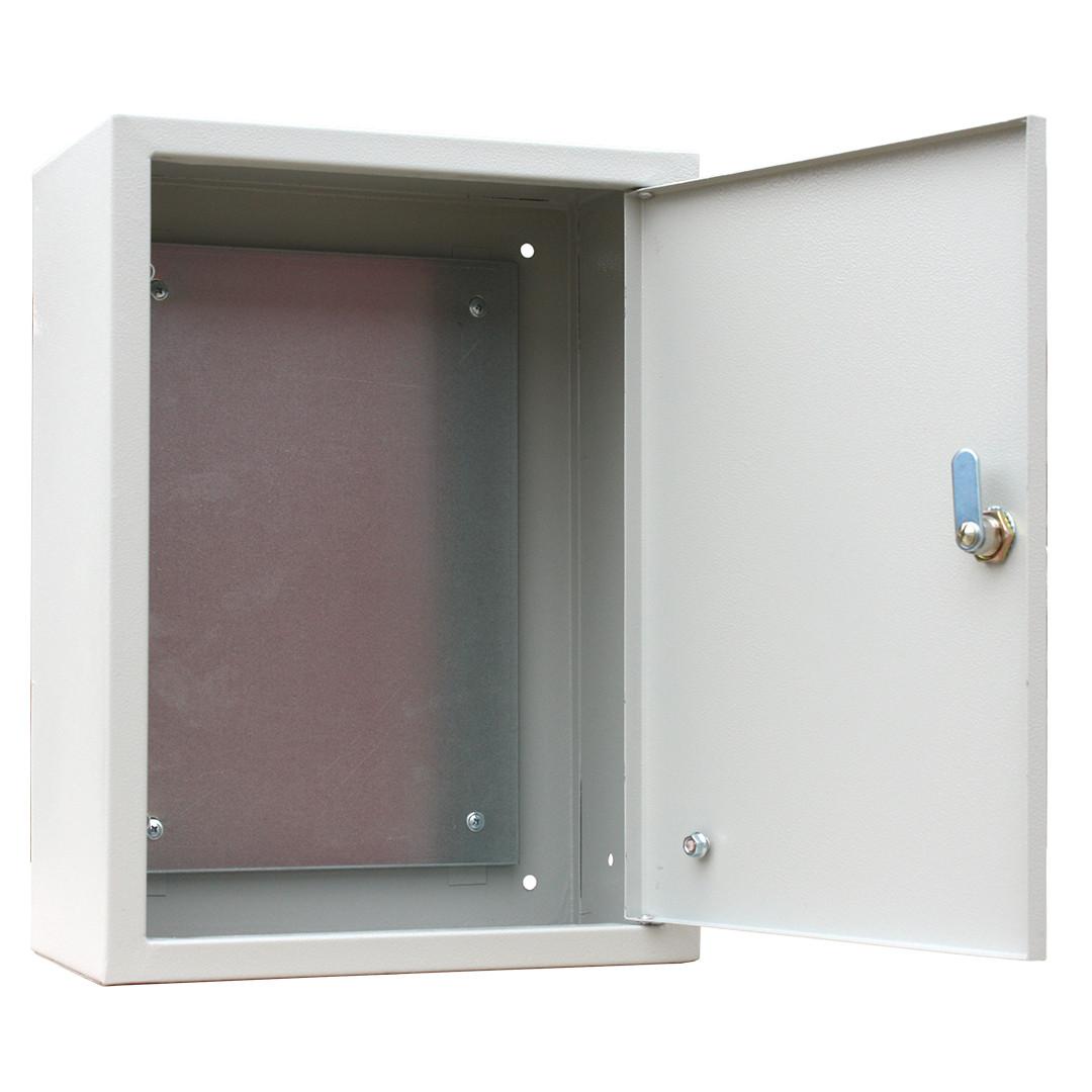 Щит с монтажной панелью ЩМП 04 IP31 (400*300*155) RUCELF