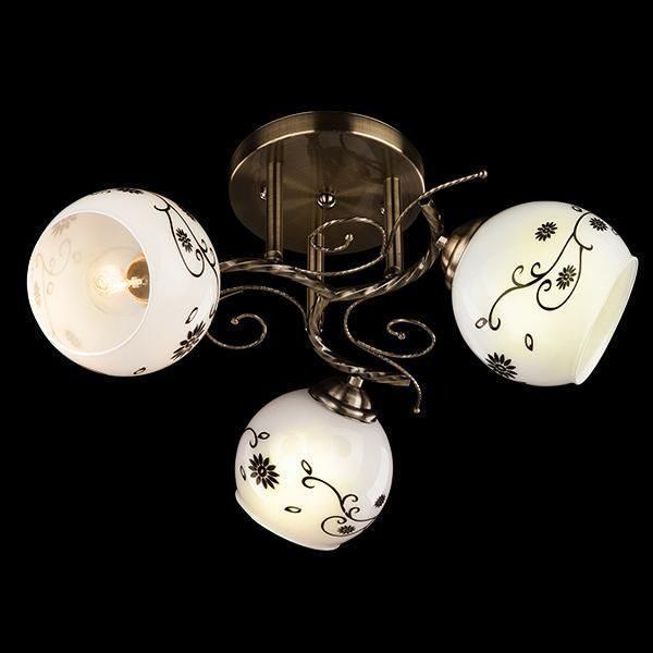 Светильник Оптима - 9647/3 античная бронза