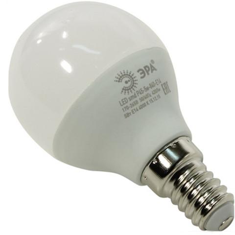 Лампа светодиодная ЭРА LED smd P45-6w-840-E14 ECO