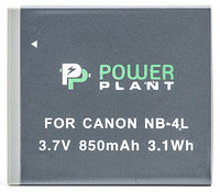 Аккумулятор для Canon NB-4L (PowerPlant) 850mAh, фото 1