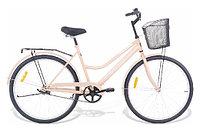 """Велосипед Torrent Olympia, прогулочный, 1 скорость, колеса 26д, рама сталь 18,5"""", Бежевый"""