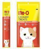 Me-o, 7  гр с мясом скумбрии Кремовое лакомство для кошек, фото 1