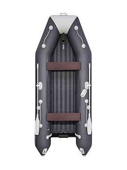 Лодка АКВА 3600 НДНД графит/светло- серый