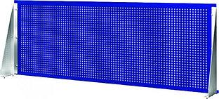 Панель перфорированная с крепежом для верстака с одной тумбой, 1390х480х40мм OWB-0514