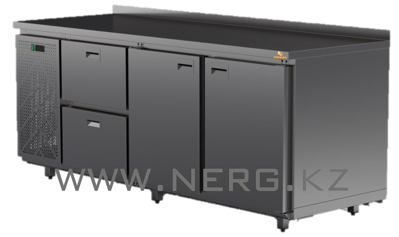 Стол средне температурный полимерное покрытие 2 двери 2 ящика