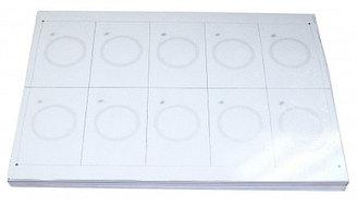Листы для производства пластиковых карт Инлей чип Инлей EM-Marine EM 4100