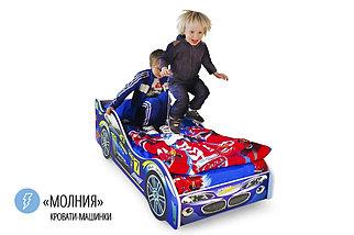 """Детская кровать-машина """"Молния"""", фото 2"""