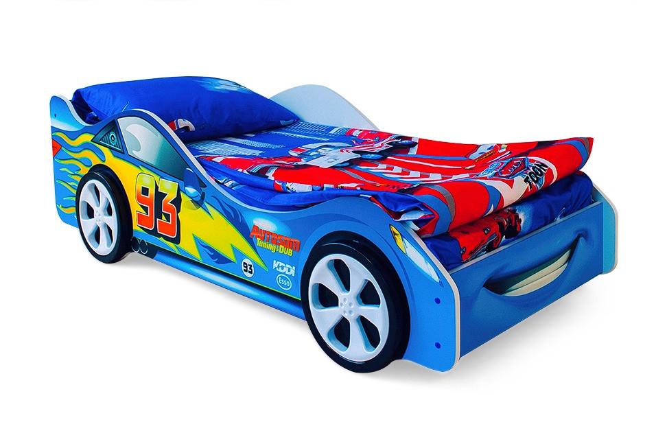 """Детская кровать-машина """"Тачка синяя"""""""