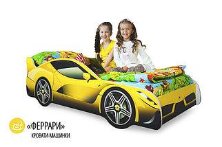 """Детская кровать-машина """"Феррари"""", фото 2"""