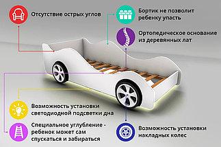 """Детская кровать-машина """"Порше"""", фото 2"""