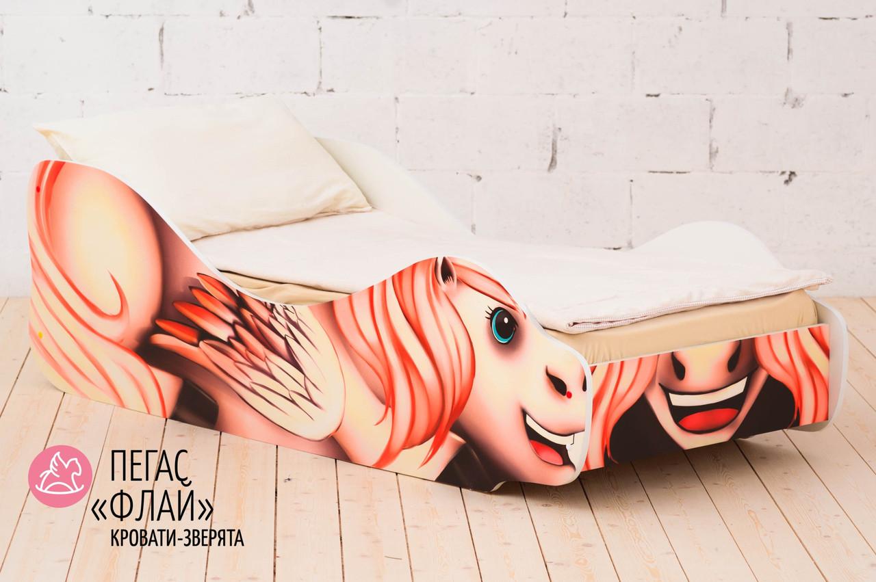 """Детская кровать-зверенок """"Пегас-Флай"""""""