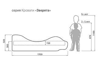 """Детская кровать-зверенок""""Лев-Кинг"""", фото 2"""
