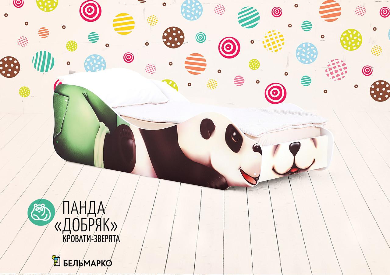 """Детская кровать-зверенок """"Панда-Добряк"""""""