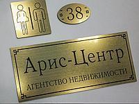 Таблички на двери в Нур-Султане