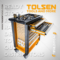 Набор ручных инструментов,Tolsen,179шт/ Hand tool set, Tolsen, 179pcs